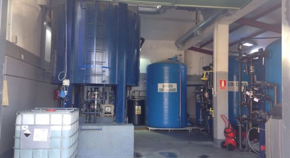 Bailin water-treatment plant